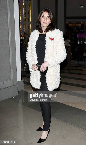 Gina Bellman attends the launch of the GREAT Boodles bangles created in partnership with jewellery brand Boodles and the GREAT initiative and...