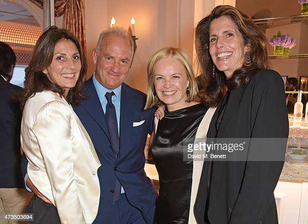 Gina Bellman Charles Finch Mariella Frostrup and Christina Robert attend as Charles Finch hosts his annual Filmmakers Dinner and photographic...