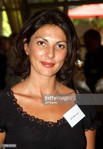 Gina Bellman during The 1st Annual BAFTA/LA ATAS Emmy Tea Party at St Regis Hotel in Los Angeles California United States