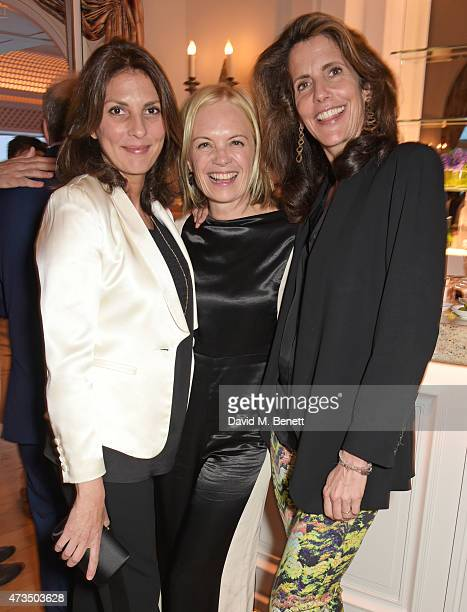 Gina Bellman Mariella Frostrup and Christina Robert attend as Charles Finch hosts his annual Filmmakers Dinner and photographic exhibition in...