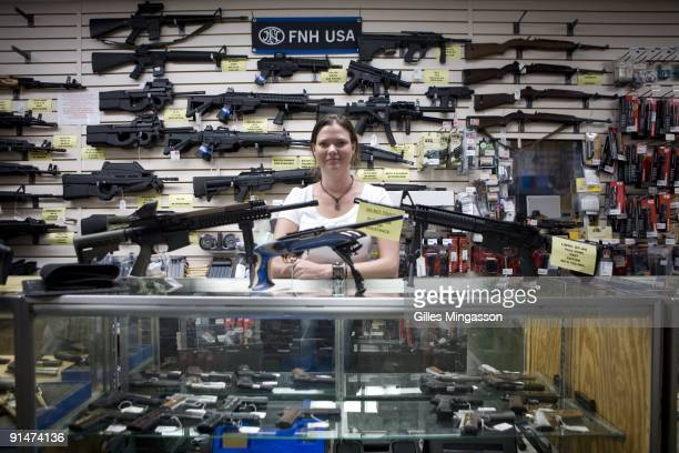 Gina Brewer the manager Texas Gun one of the 6700 gun dealers located near the 2000 miles long USMexico border insists that she has not sold weapons...