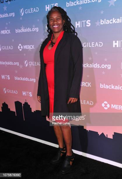Gina Brown attends the Black AIDS Institute's 2018 Heroes in The Struggle Gala at California African American Museum on December 01 2018 in Los...