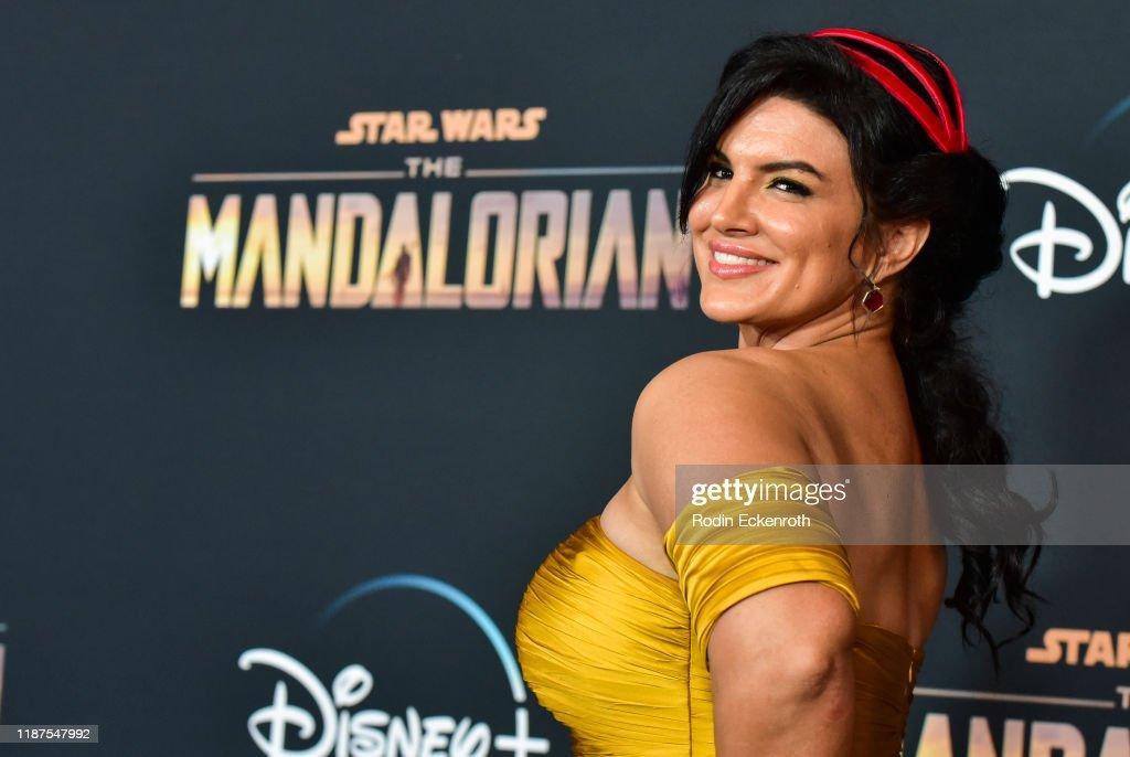 "Premiere Of Disney+'s ""The Mandalorian"" - Arrivals : News Photo"