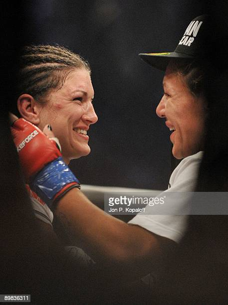 carano v cyborg stock photos and pictures getty images