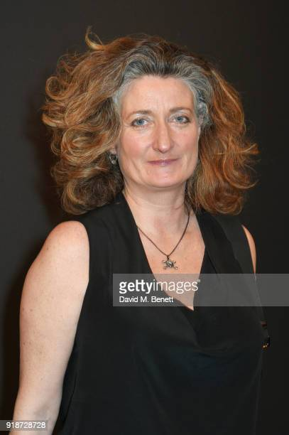 Gina Carter attends the Dunhill GQ preBAFTA filmmakers dinner and party cohosted by Andrew Maag Dylan Jones at Bourdon House on February 15 2018 in...