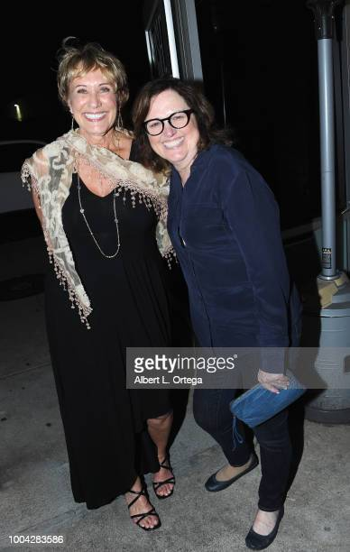Gina Chapman and Robyn Moore attend the 31st Kinda'Annual DeadDog Party held at The Barriohaus on July 22 2018 in San Diego California