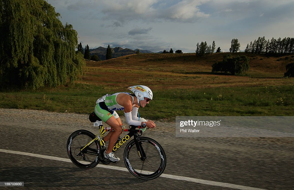 Gina Crawford of New Zealand competes in the Challenge Wanaka on January 19, 2013 in Wanaka, New Zealand.