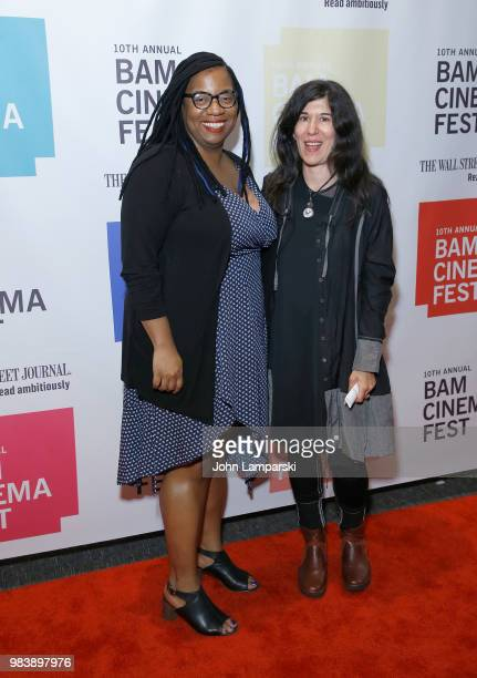 Gina Duncan and Debra Granik attend 2018 BAM Cinema Fest Centerpiece screening of 'Leave No Trace' at BAM Harvey Theater on June 25 2018 in New York...