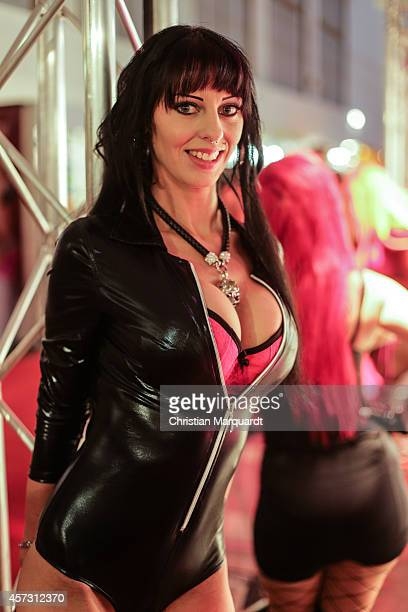 'Gina Gang' attends the 'Venus Erotic Fair 2014' on October 17 2014 in Berlin Germany