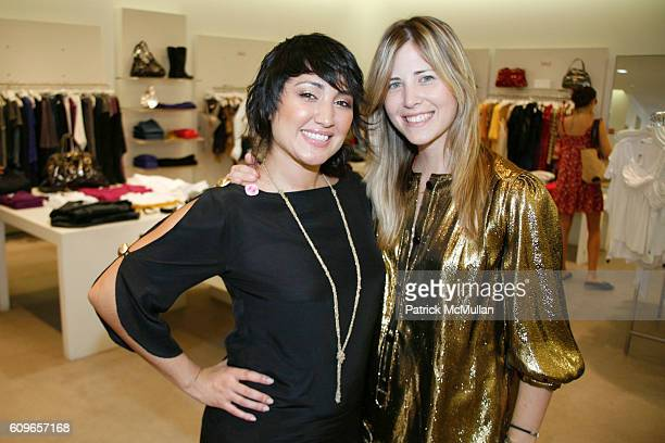 Gina Garcia and Cheryl Hergler attend Russell Simmons Allison Weiss Brady and Chip Brady host an afternoon of Art Shopping at Intermix to benefit...