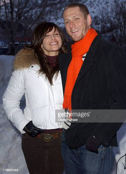 Gina Gershon and Brian Klugman during 2006 Sundance Film Festival Dreamland Premiere at Library in Park City Utah United States