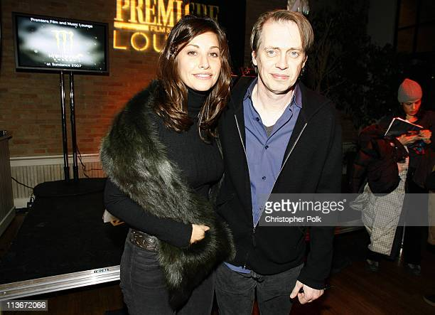 Gina Gershon and Steve Buscemi during 2007 Park City Delirious Premiere After Party hosted by Premiere Magazine at the Premiere Lounge at Riverhouse...