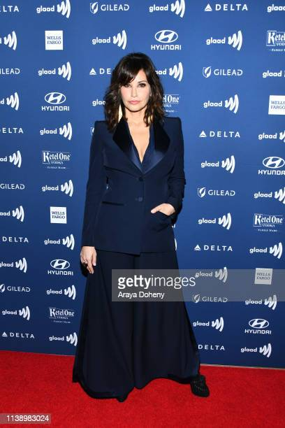Gina Gershon at the 30th Annual GLAAD Media Awards at The Beverly Hilton Hotel on March 28 2019 in Beverly Hills California