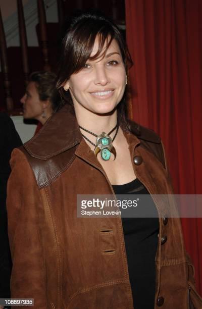 Gina Gershon at the Marni dinner for Consuelo Castiglioni