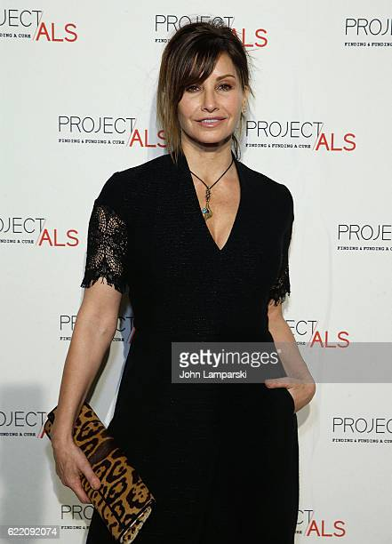 Gina Gershon attends 18th Annual Project ALS Tomorrow is Tonight New York Gala at Cipriani 25 Broadway on November 9 2016 in New York City