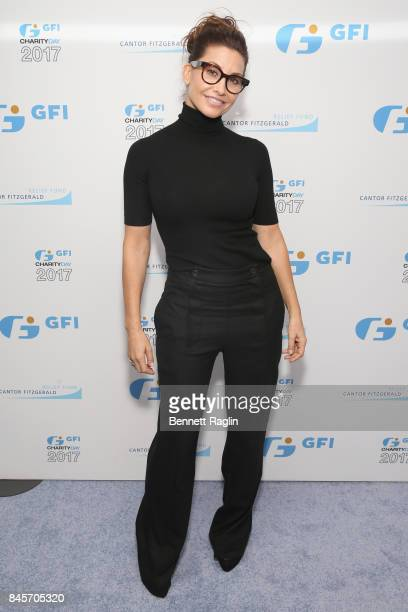 Gina Gershon attends Annual Charity Day hosted by Cantor Fitzgerald BGC and GFI at GFI Securities on September 11 2017 in New York City