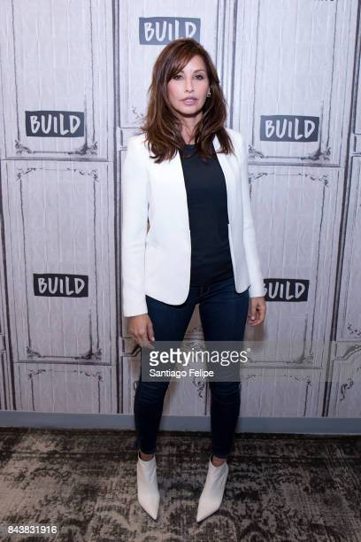 Gina Gershon attends Build Presents to discuss '9/11' at Build Studio on September 7 2017 in New York City