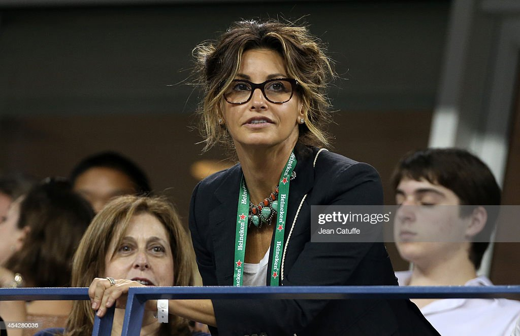 Gina Gershon attends Day 3 of the 2014 US Open at USTA Billie Jean King National Tennis Center on August 27, 2014 in the Flushing neighborhood of the Queens borough of New York City.