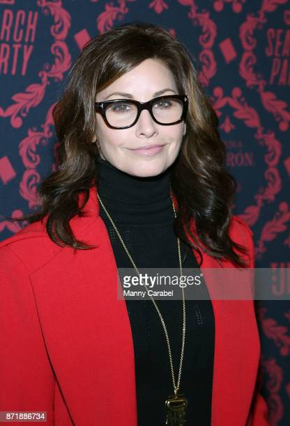 Gina Gershon attends TBS hosts the Season 2 Premiere of 'Search Party' at Public Arts at Public on November 8 2017 in New York City