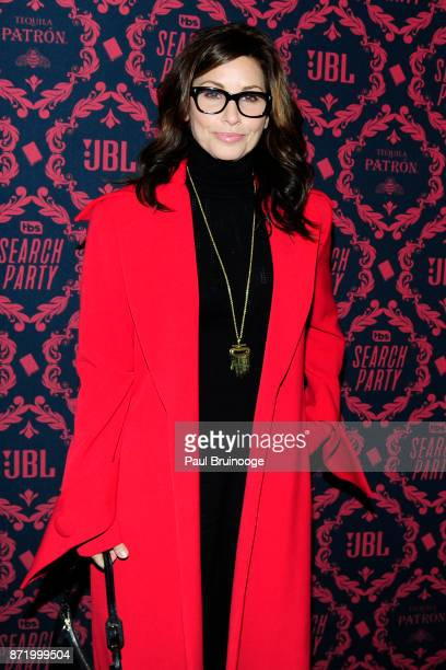 Gina Gershon attends TBS hosts the Season 2 Premiere of 'Search Party' at Public Hotel on November 8 2017 in New York City