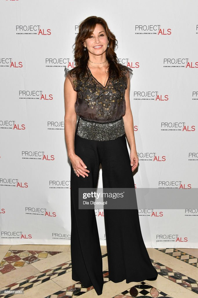 Gina Gershon attends the 19th Annual Project ALS Benefit Gala at Cipriani 42nd Street on October 25, 2017 in New York City.
