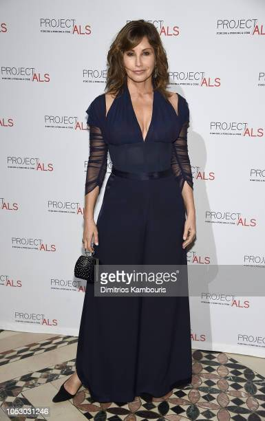 Gina Gershon attends The 2018 Project ALS Gala at Cipriani 42nd Street on October 24 2018 in New York City