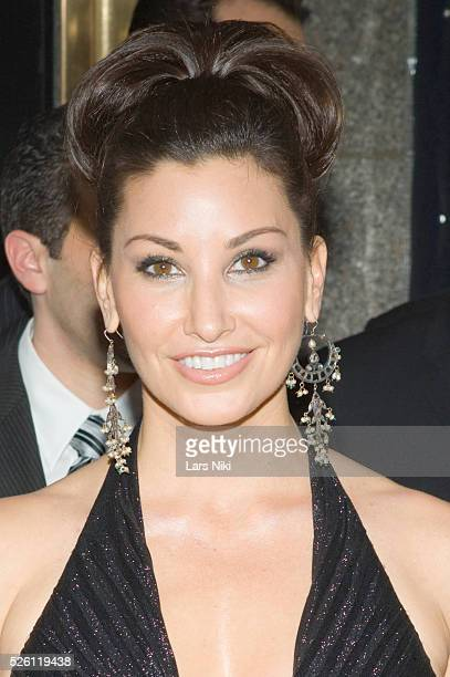 Gina Gershon attends the '63rd Annual Tony Awards' at Radio City Music Hall in New York City
