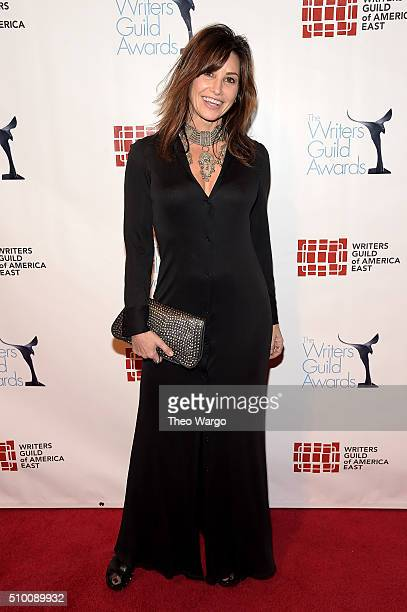 Gina Gershon attends the 68th Annual Writers Guild Awards at Edison Ballroom on February 13 2016 in New York City