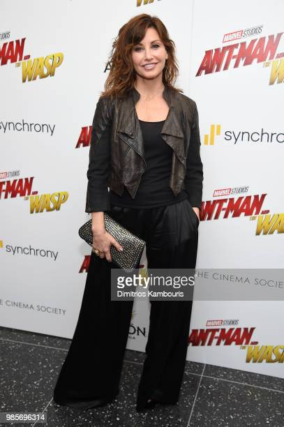 Gina Gershon attends the AntMan And The Wasp New York Screening at Museum of Modern Art on June 27 2018 in New York City
