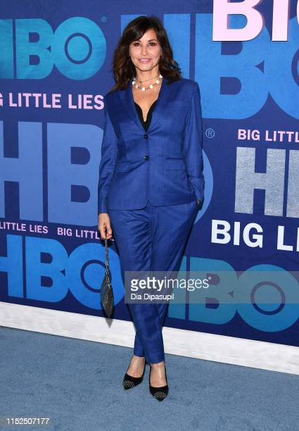 Gina Gershon attends the Big Little Lies Season 2 Premiere at Jazz at Lincoln Center on May 29 2019 in New York City