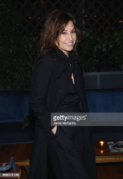 Gina Gershon attends The Cinema Society's Screening Of Marvel Studios' Thor Ragnarok at Magic Hour Rooftop Bar Lounge on October 30 2017 in New York...