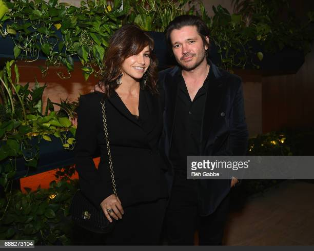 Gina Gershon attends The Hollywood Reporter 35 Most Powerful People In Media 2017 at The Pool on April 13 2017 in New York City