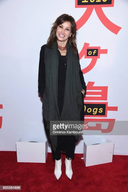 Gina Gershon attends the Isle Of Dogs New York Screening at The Metropolitan Museum of Art on March 20 2018 in New York City