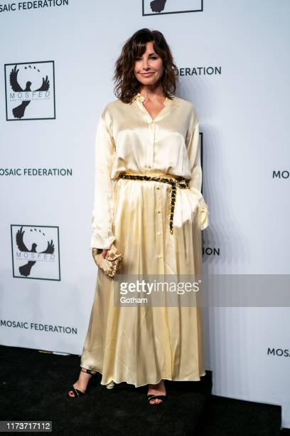 Gina Gershon attends the Mosaic Federation Gala Against Human Slavery at Cipriani 42nd Street on September 10 2019 in New York City