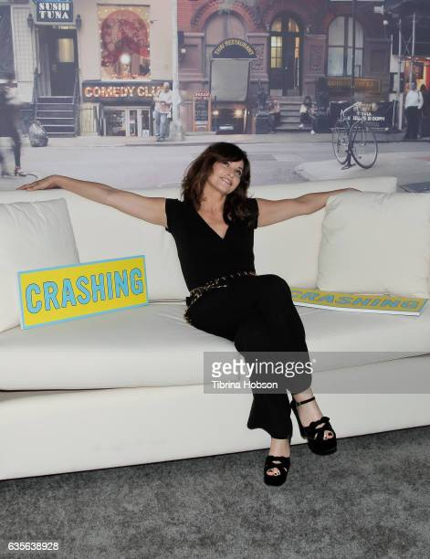 Gina Gershon attends the premiere of HBO's 'Crashing' after party on February 15 2017 in Hollywood California
