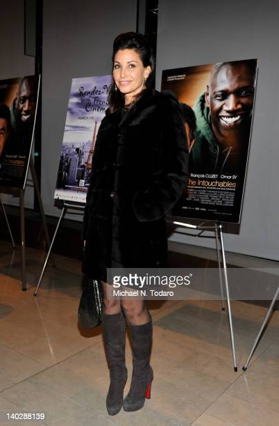 Gina Gershon attends the premiere of The Intouchables premiere at Alice Tully Hall on March 1 2012 in New York City