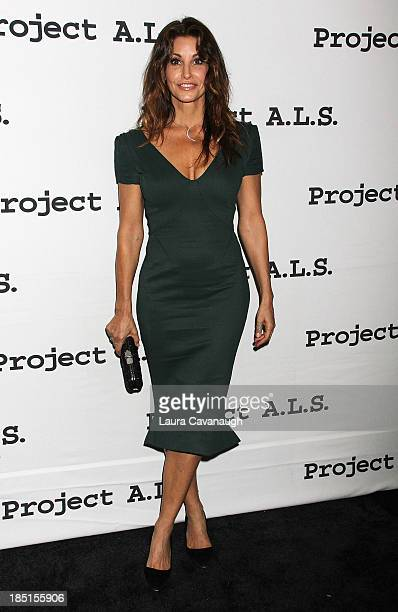 Gina Gershon attends the Project ALS 15th Anniversary at Roseland Ballroom on October 17 2013 in New York City