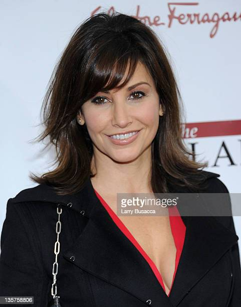 Gina Gershon attends the The Iron Lady New York premiere at the Ziegfeld Theater on December 13 2011 in New York City