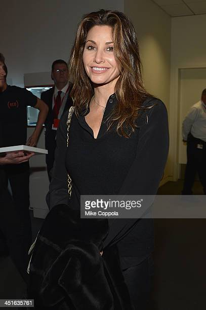 Gina Gershon attends the VIP Reception at Jony And Marc's Auction at Sotheby's on November 23 2013 in New York City Photo by Mike Coppola/Getty...