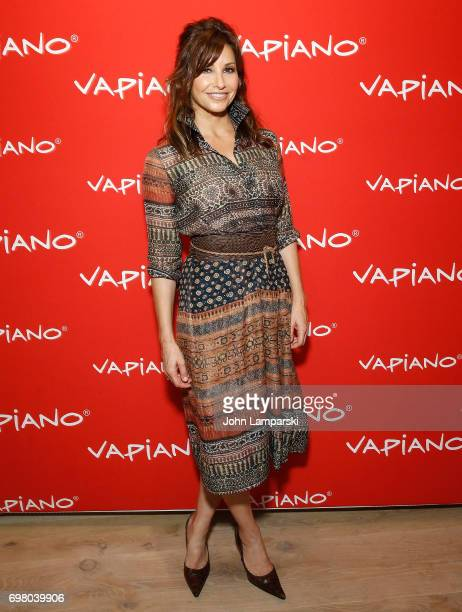 Gina Gershon attends Vapiano Grand ReLaunch Party at Vapiano on June 19 2017 in New York City
