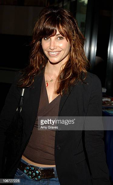Gina Gershon during 2004 Los Angeles Film Festival 'Z Channel A Magnificent Obsession' Screening at Directors Guild of America in Los Angeles...