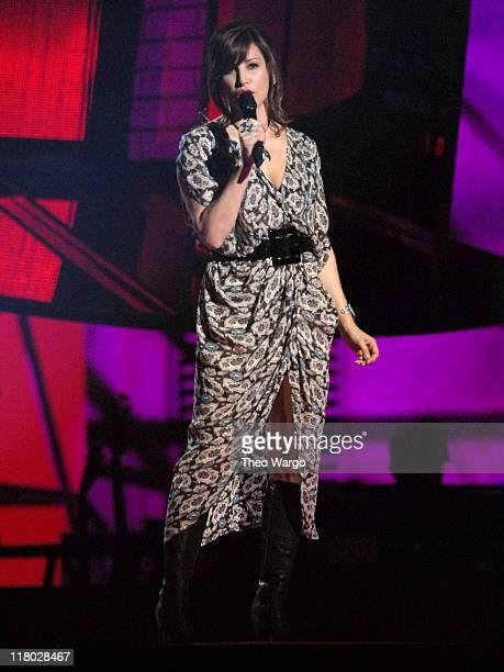 Gina Gershon during 2006 VH1 Rock Honors Show at Mandalay Bay Hotel and Casino in Las Vegas Nevada United States