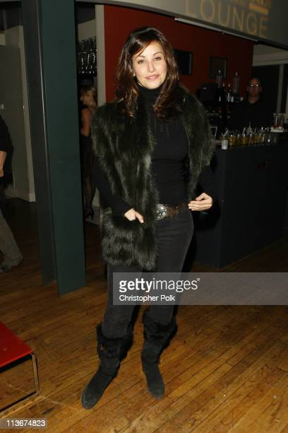 Gina Gershon during 2007 Park City Delirious Premiere After Party hosted by Premiere Magazine at the Premiere Lounge at Riverhouse in Park City Utah...