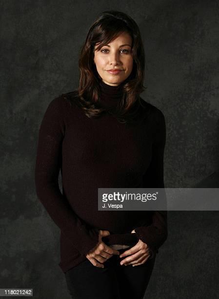 Gina Gershon during 2007 Sundance Film Festival Delirious Portraits at Delta Sky Lodge in Park City Utah United States