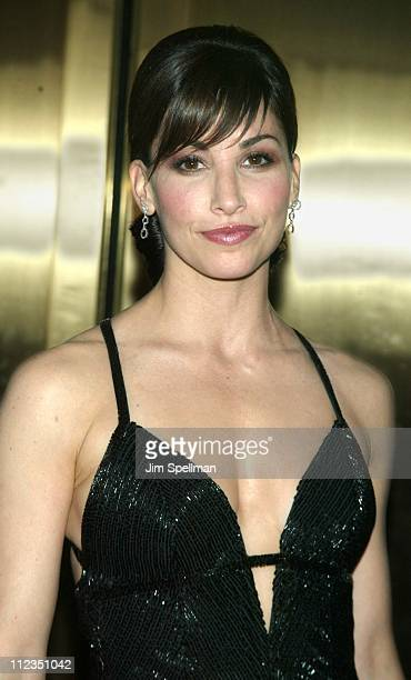 Gina Gershon during 56th Annual Tony Awards Arrivals at Radio City Music Hall in New York City New York United States