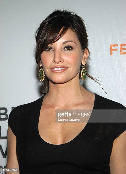 Gina Gershon during 5th Annual Tribeca Film Festival One Last Thing Premiere Arrivals at AMC Loews Lincoln Square in New York City New York United...