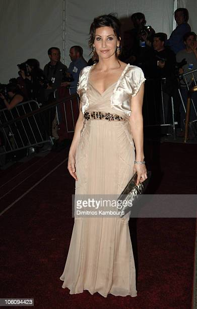 Gina Gershon during AngloMania Costume Institute Gala at The Metropolitan Museum of Art Arrivals Celebrating AngloMania Tradition and Transgression...