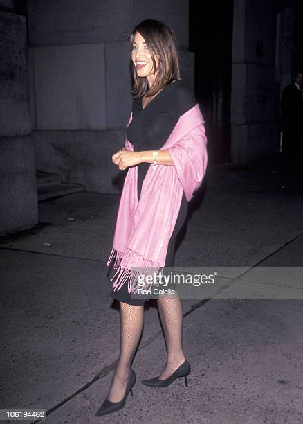 Gina Gershon during Benefit for Audrey Hepburn Children's Hospital at Cirpriani's in New York City New York United States
