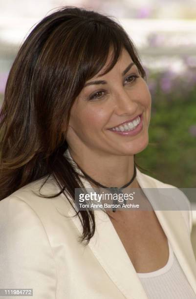 """Gina Gershon during Cannes 2002 - """"Demonlover"""" Photo Call at Palais des Festivals in Cannes, France."""