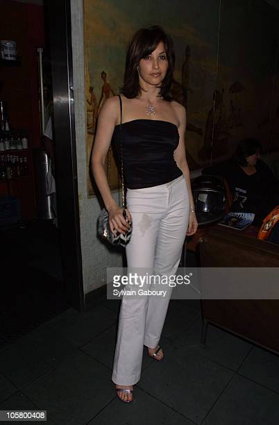 Gina Gershon during Gina Gershon Celebrates Her Gotham Magazine Cover at Bowery Bar in New York City New York United States